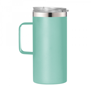 20oz Tumbler Double Stainless Steel Insulated Vacuum Travel Mug With Handle
