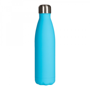 Cola Shape Thermos Stainless Steel Vacuum Water Bottle  Soft Touch